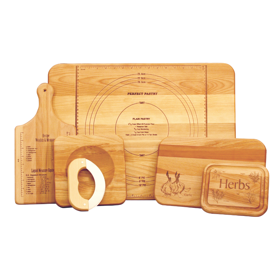 Catskill's Ultimate Chef's Cutting Board Set - 5 Different-Size Boards